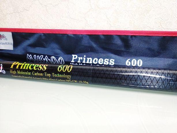 Маховое рыболовное удилище удочка карбон MIKADO Princess 6 м