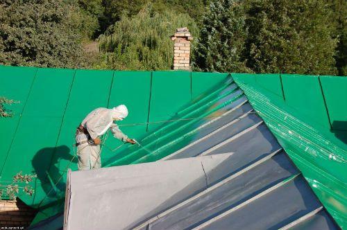 Фарбування дахів фасадів .Ремонт ринв водостоків Висотні роботи