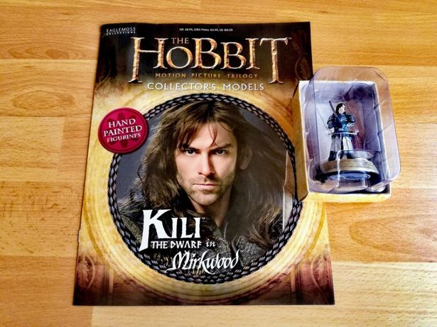 figurka+magazyn - HOBBIT - Kili, kolekcja Eaglemoss