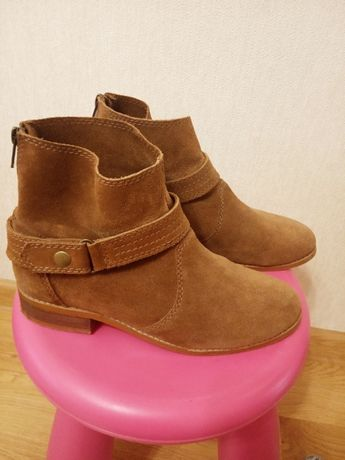 Черевики, ботинки, замша, Pull&Bear