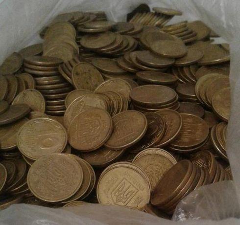 1 кг монет 10 копеек Украины. Есть больше и другие номиналы.