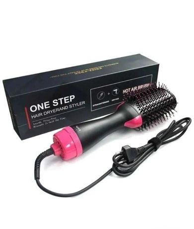 Хит! Новинка!фен - щётка для волос one step hair dryer and styler 3в1