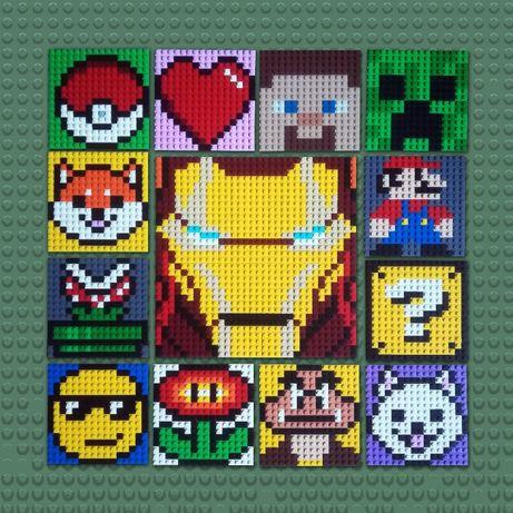 Prezent dla graczy i fanów Lego!   Mario   Halo   Avengers   Minecraft