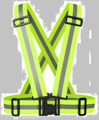 Szelki odblaskowe z regulacją kamizelka odblaskowa motor rower