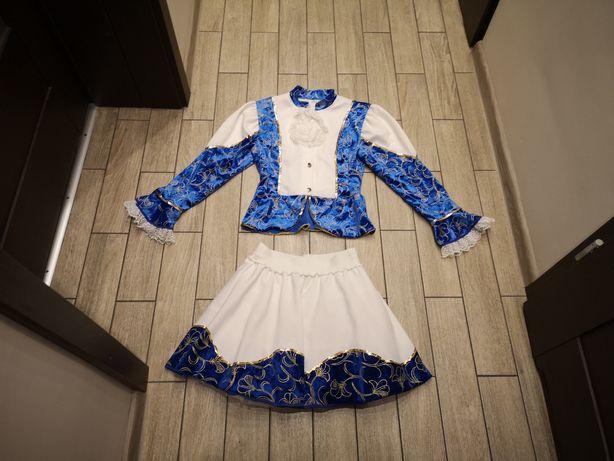 Strój cheerleaderki, cheerleaderka, tancerka dama, królowa roz.164 cm