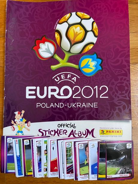 Cromos EURO 2012 Polónia-Ucrânia