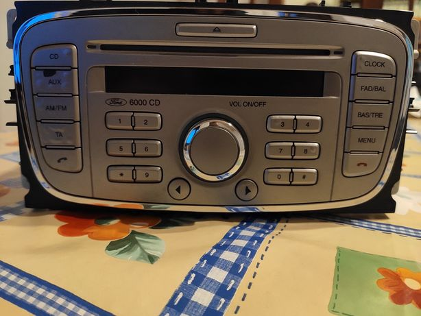 Ford Rádio 6000 CD com bluetooth para chamadas