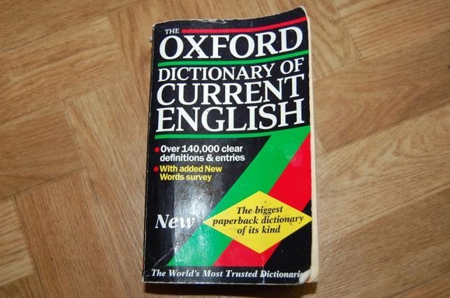 Oxford dictionary of current English - словарь