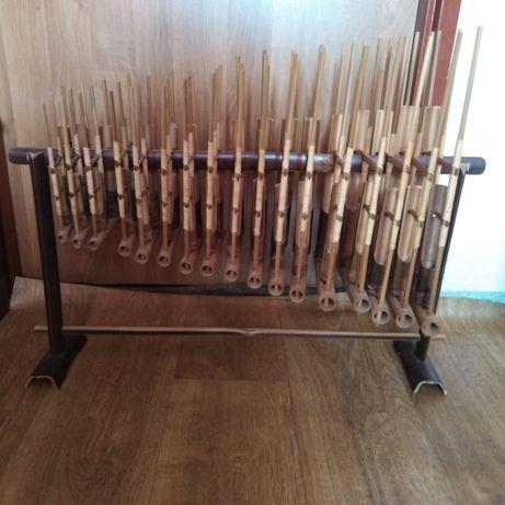 angklung indonezyjski instrument muzyczny