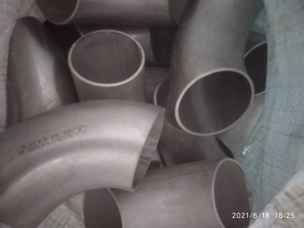 Нержавеющий отвод 90* 76,1 мм * 3 мм