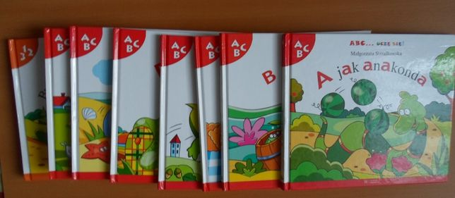 Zestaw książek dla dzieci: ABC