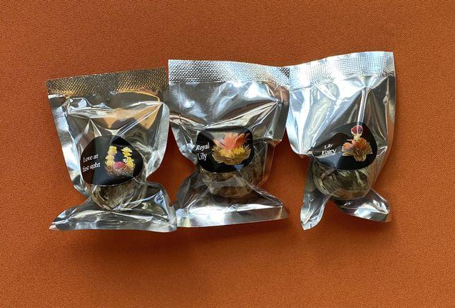 Связанный чай 3 сорта (индивидуальная упаковка)/ Зв'язаний чай 3 сорти