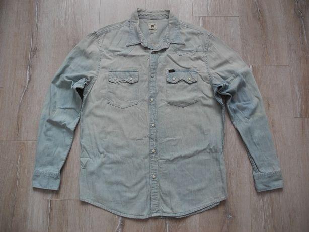 Рубашка джинсовая Lee р. XL ( Новое )