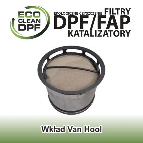 Filtr cząstek stałych - wkład DPF do autobusów Van Hool