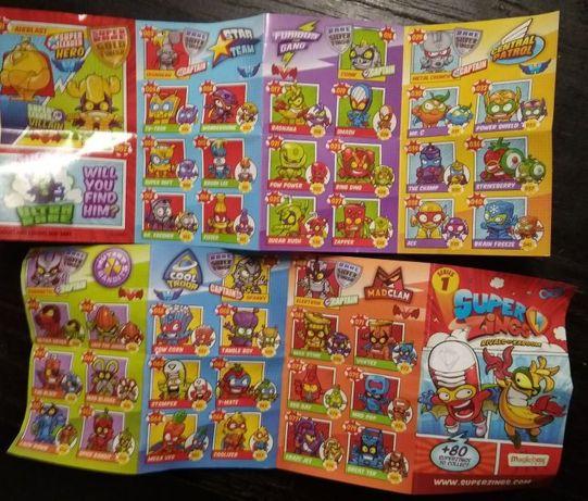 super zings superzings seria 1 figurki wszystkie dostępne