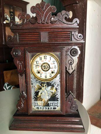 Relógio Antigo de Pêndulo Reguladora
