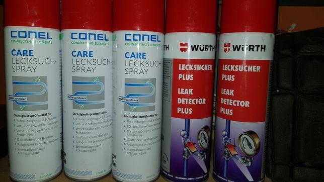 Spray do szczelności gazu