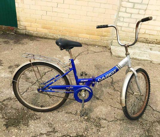 Велосипед салют взрослый.