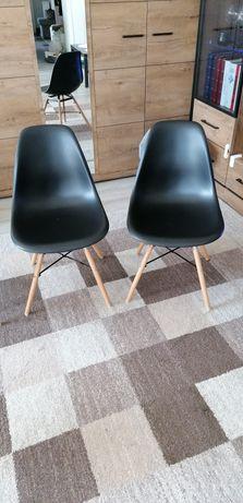 Krzesła 4 szt kolor czarny