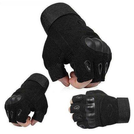 Перчатки тактические Oakley XL, L, М / Олива и Черный
