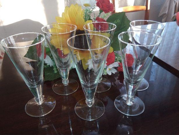 Бокалы фужеры стаканы 6шт.