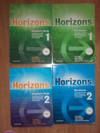Horizons, klasa 1i 2szkoła średnia.