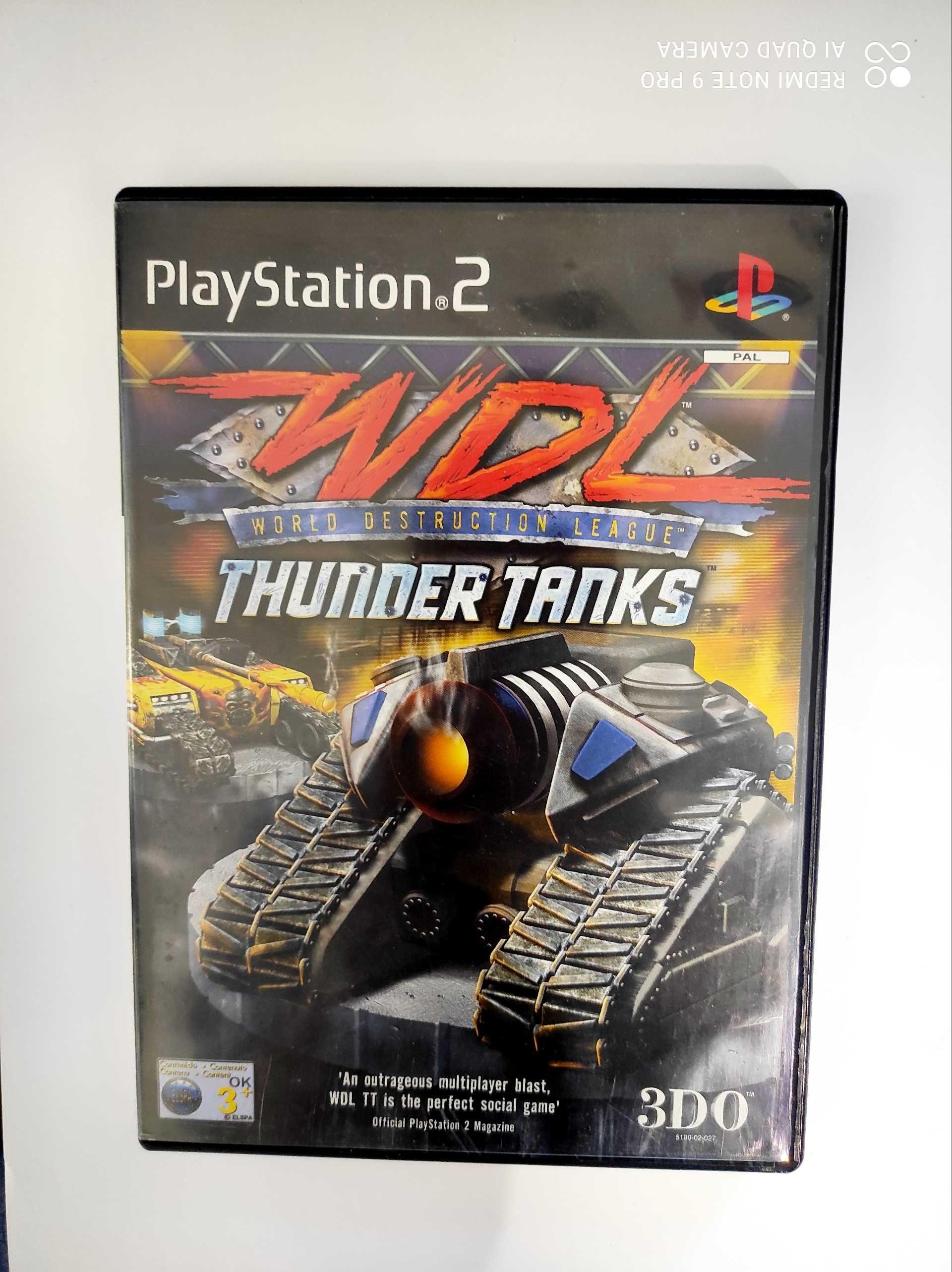 WDL world destruction league thunder tanks ps2