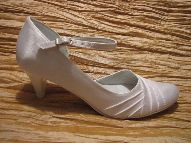 buty ślubne białe rozmiar 38, 40