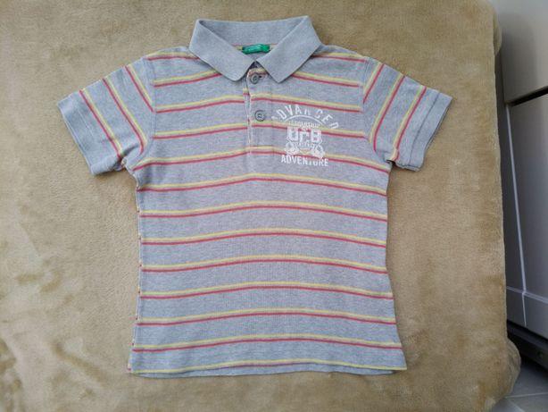 Benetton футболка мальчикам xs, 4-5 лет, 110 см
