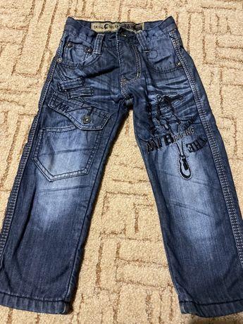 Дитячі джинси теплі