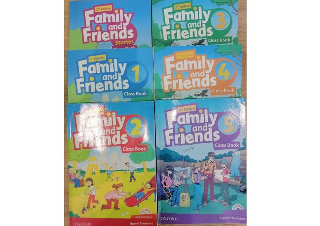 Family and Friends (2-nd edition) все уровни