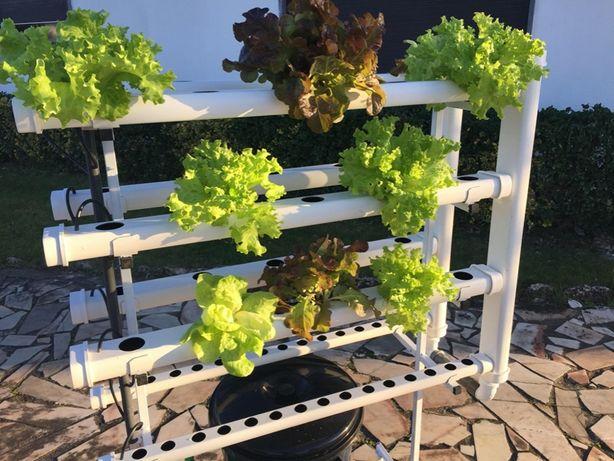 Hidroponia - Kit Vertical Amovível para 70 Plantas - Loja Oficial