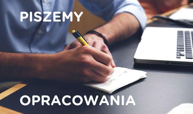 Copywriting, pisanie online, artykuły, prace, eseje - każdy temat!