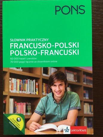 Słownik Francusko-Polski; Polsko-Fracuski.