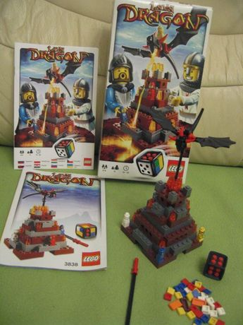 Lego 3838 Lava Dragon