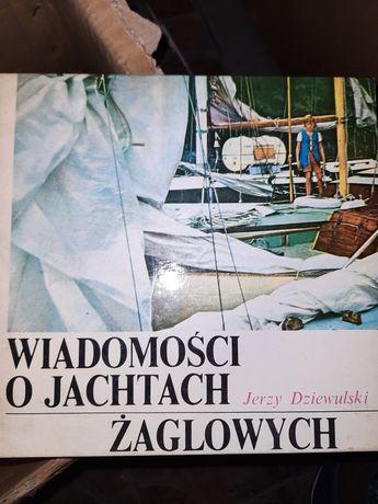 Jerzy Dziewulski  Wiadomości o żaglach jachtowych
