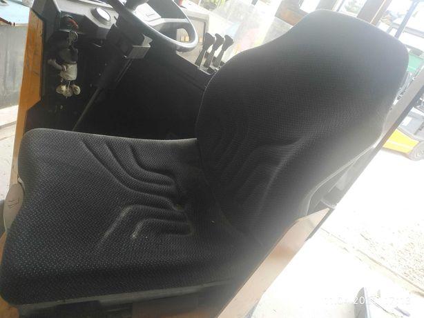 Siedzenie fotel wózka widłowego, ciągnika rolniczego GRAMMER MSG20
