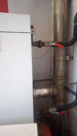Caldeira a gasóleo + depósito 1000L