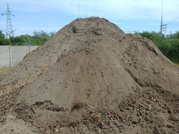 Ziemia piasek zasyp