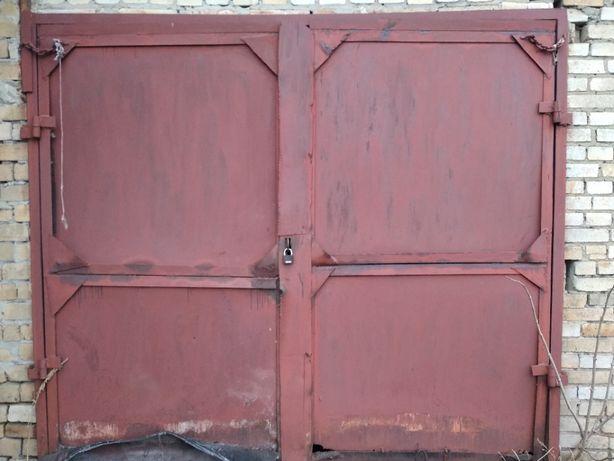 Ворота складские металл