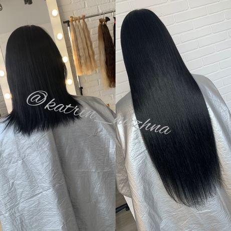 Наращивание,загущение, выравнивание длины волос
