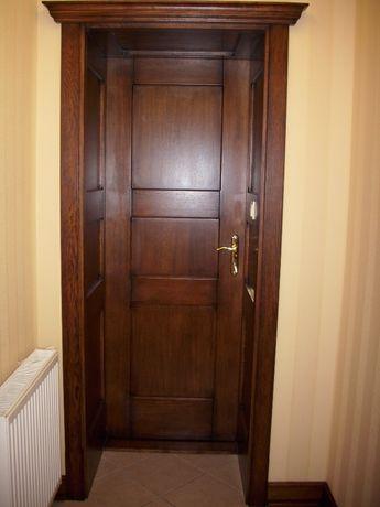 Drzwi wewnętrze drewniane i okleinowane dowole wzory - producent