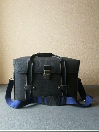 Кофр сумка кожаная для фото и видео техники за 600 гр.