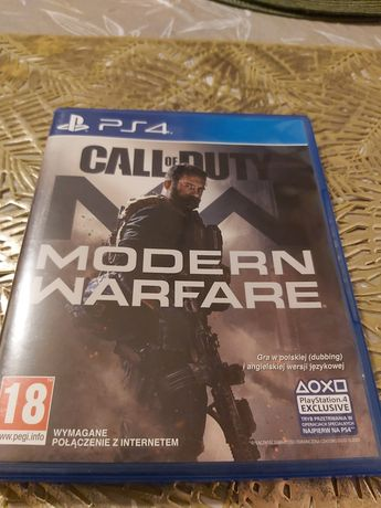 Gra na PS4 Call of Duty