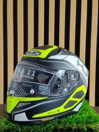 Kask Hjc R-PHA 11 Saravo Black/Fluo Green 'S