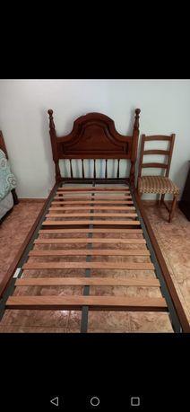 2 camas de solteiro vintage