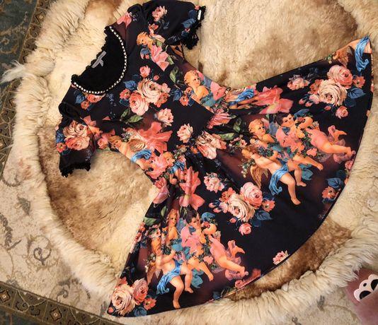 Платье под Dolce Gabbana ангелы