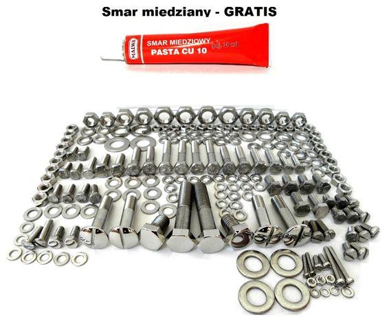 SHL M11 Komplet śruby nierdzewne polerowane + SMAR