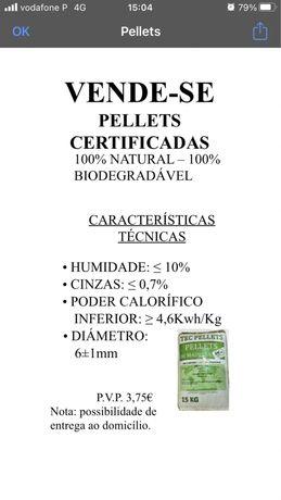 Vendo pellets certificados