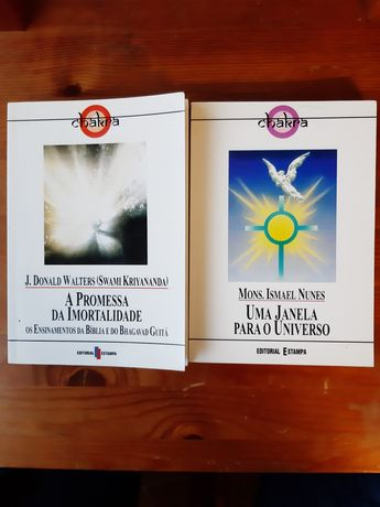 Editorial Estampa - coleção chakra